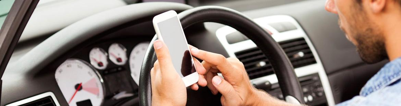 téléphone portable au volant